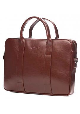 Фото Кожаный портфель для ноутбука Solier SL20 Maroon