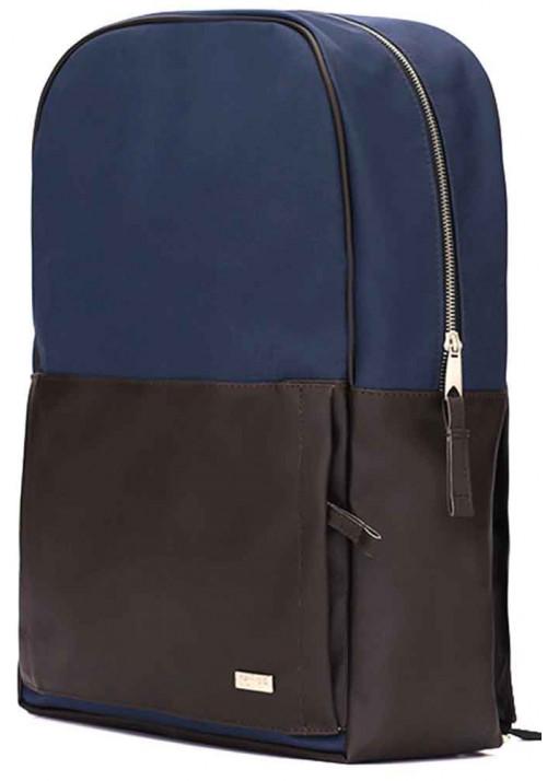 Сине-коричневый городской рюкзак Solier SR01 Blue Brown