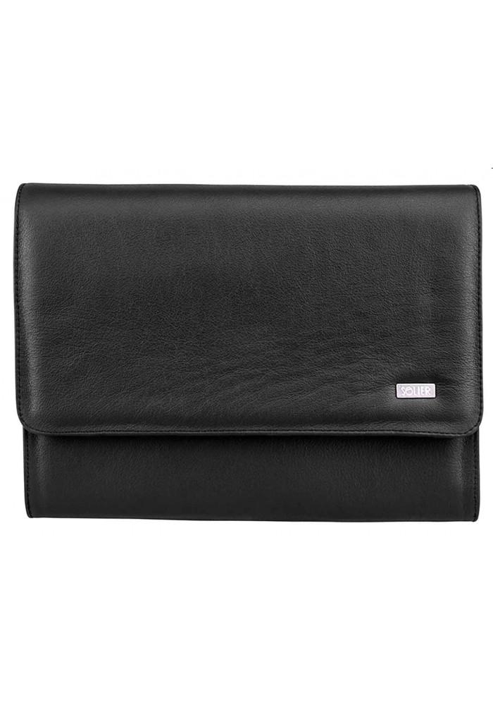 Папка для ноутбука или планшета 13 дюймов Solier SA01 Black
