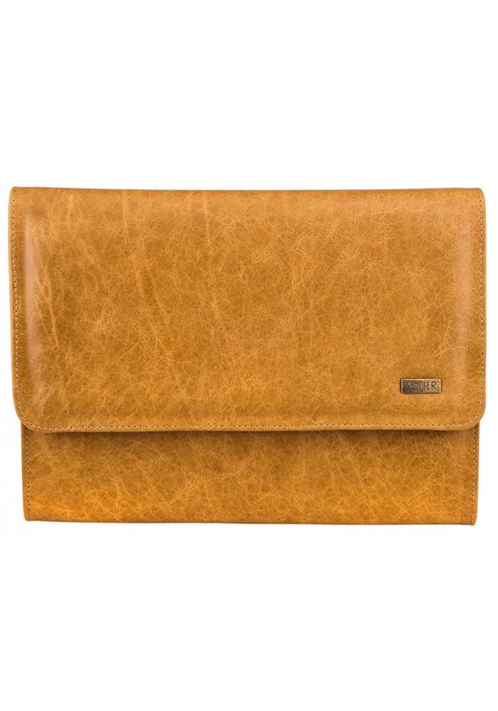 Папка для ноутбука или планшета 13 дюймов Solier SA01 Camel