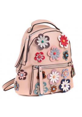 Фото Молодежный рюкзачок с цветами YES WEEKEND Пудра
