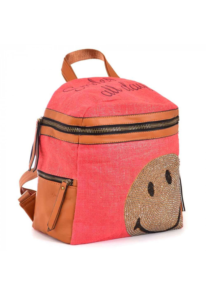 Женский рюкзачок красного цвета YES WEEKEND