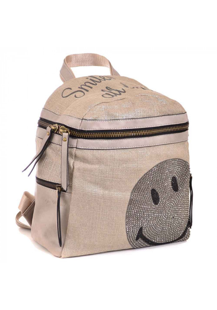 Бежевый женский рюкзачок YES WEEKEND