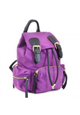 Фото Фиолетовый молодежный рюкзачок из ткани YES WEEKEND