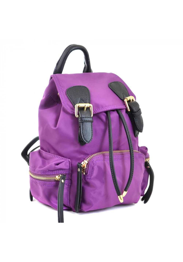 Фиолетовый молодежный рюкзачок из ткани YES WEEKEND