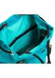 Бирюзовый молодежный рюкзачок из ткани YES WEEKEND, фото №5 - интернет магазин stunner.com.ua