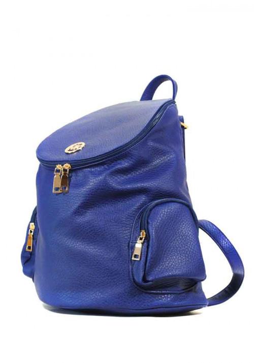 Рюкзак молодежный женский синий 57-980