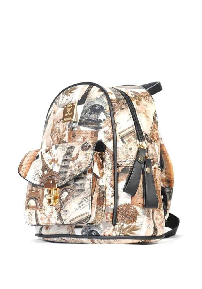 Молодежный винтажный рюкзак