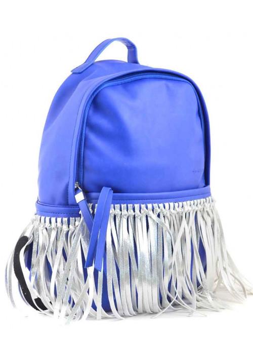 Молодежный рюкзак с бахромой YES WEEKEND синий