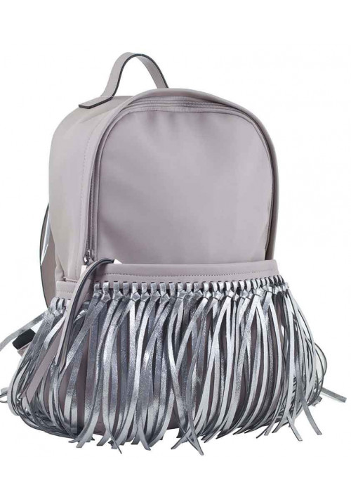 Молодежный рюкзак с бахромой YES WEEKEND серый