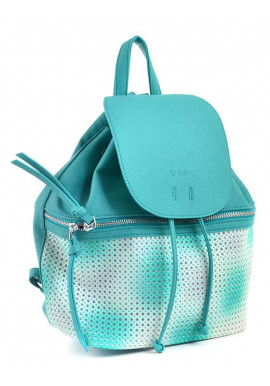 Фото Молодежный рюкзак с бахромой YES WEEKEND бирюзовый