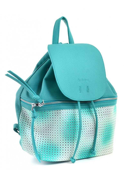 Молодежный рюкзак с бахромой YES WEEKEND бирюзовый