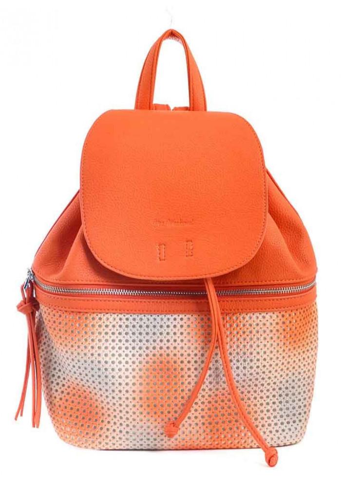 Женский оранжевый рюкзак YES WEEKEND