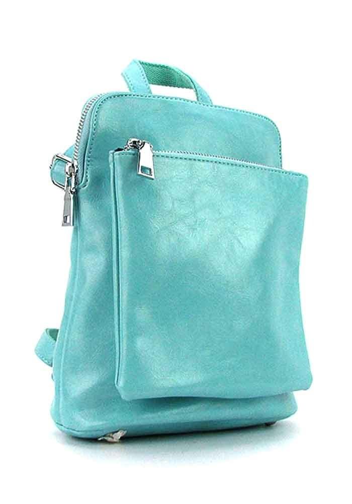 Голубой женский рюкзак 88118-13