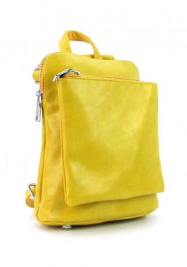 Фото Желтый женский рюкзак 88118-6