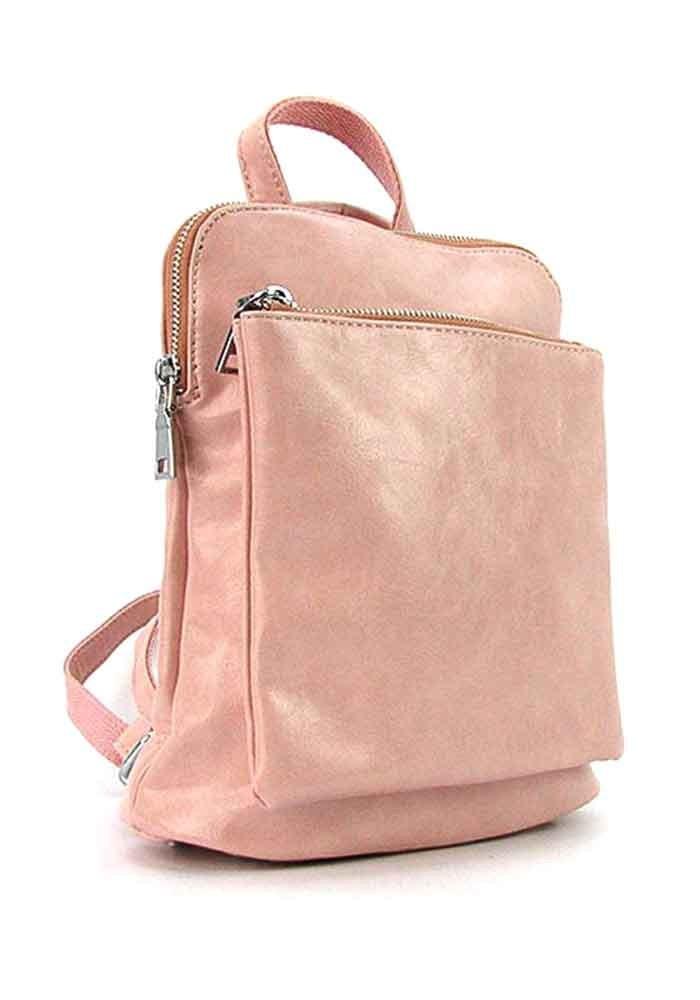 Женский рюкзак цвета пудры 88118-8