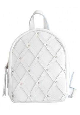 Фото белый молодежный маленький рюкзачок Baby Archer White