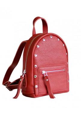 Фото Женский красивый рюкзак с заклепками Baby Sport Red R