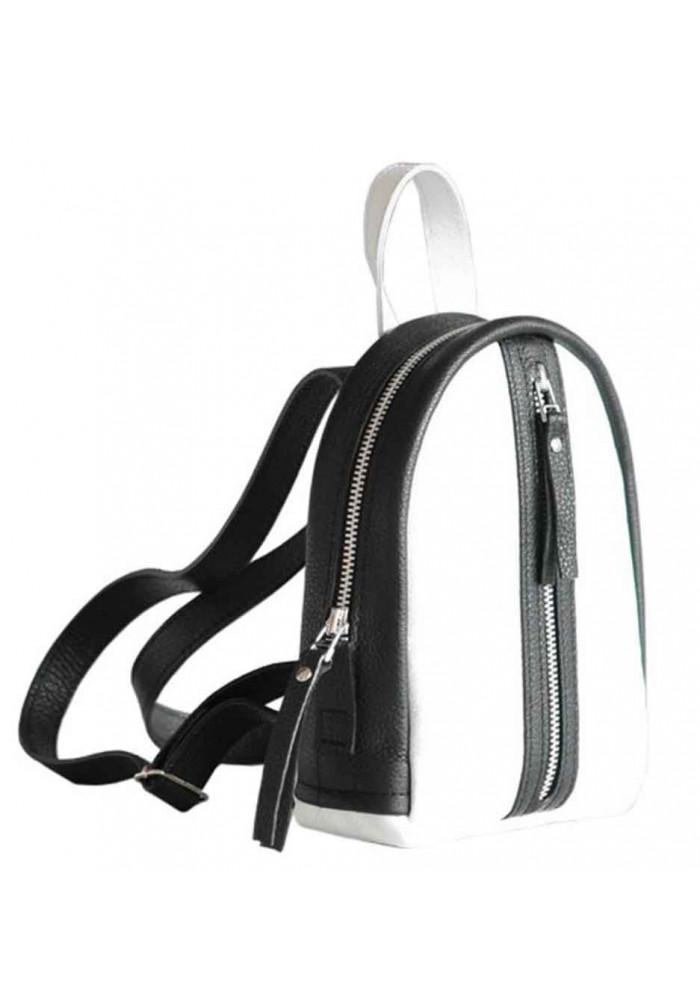 2df1a3972d57 ... Бело-черной женский красивый рюкзак Baby Sport White Zipper, фото №2 -  интернет ...