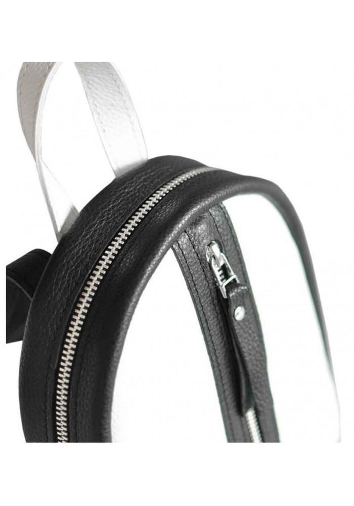 7e2491aa6bff ... Бело-черной женский красивый рюкзак Baby Sport White Zipper, фото №3 -  интернет ...
