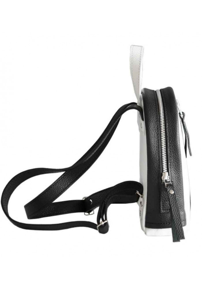 cf751d1e805e ... Бело-черной женский красивый рюкзак Baby Sport White Zipper, фото №5 -  интернет ...