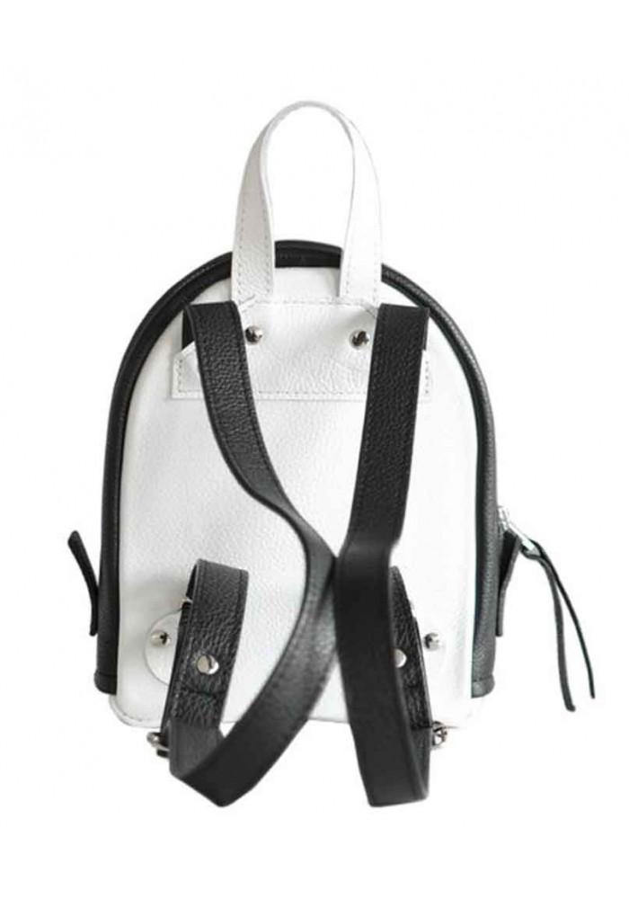 4f84abd7b529 ... Бело-черной женский красивый рюкзак Baby Sport White Zipper, фото №6 -  интернет ...