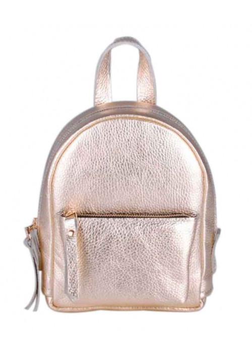 Золотой женский красивый рюкзак Baby Sport New Gold