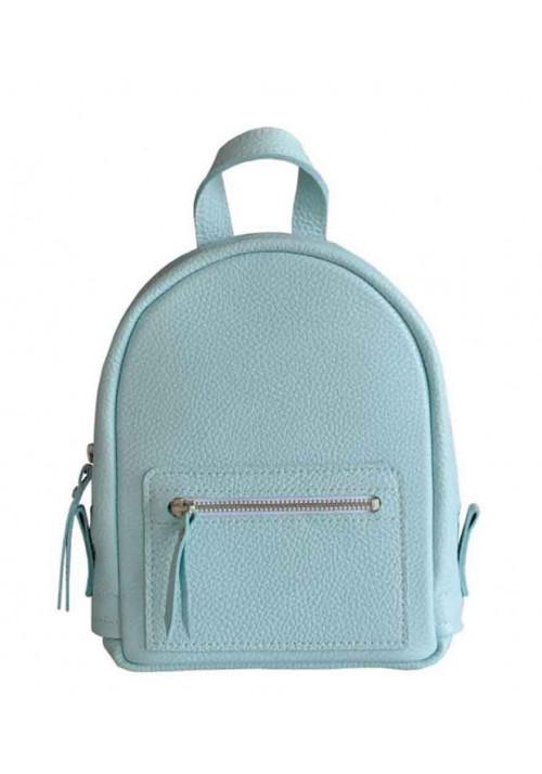 Голубой женский рюкзак Baby Sport Aqua
