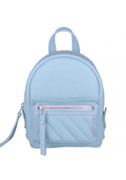 Женский рюкзак голубого цвета Baby Sport Soft Aqua