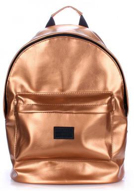 Фото Рюкзак Poolparty backpack-pu-gold
