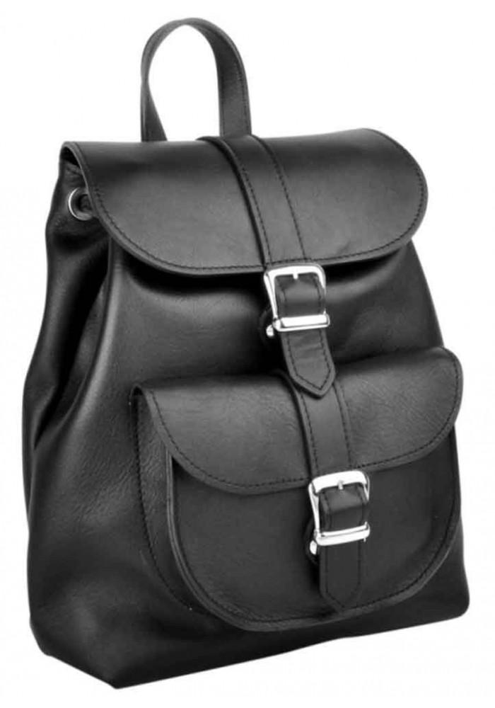 Женский рюкзак из гладкой кожи Classic Black