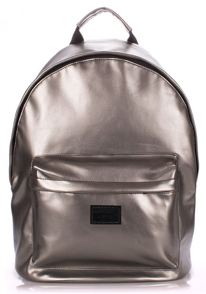 Фото Рюкзак Poolparty backpack-pu-silver