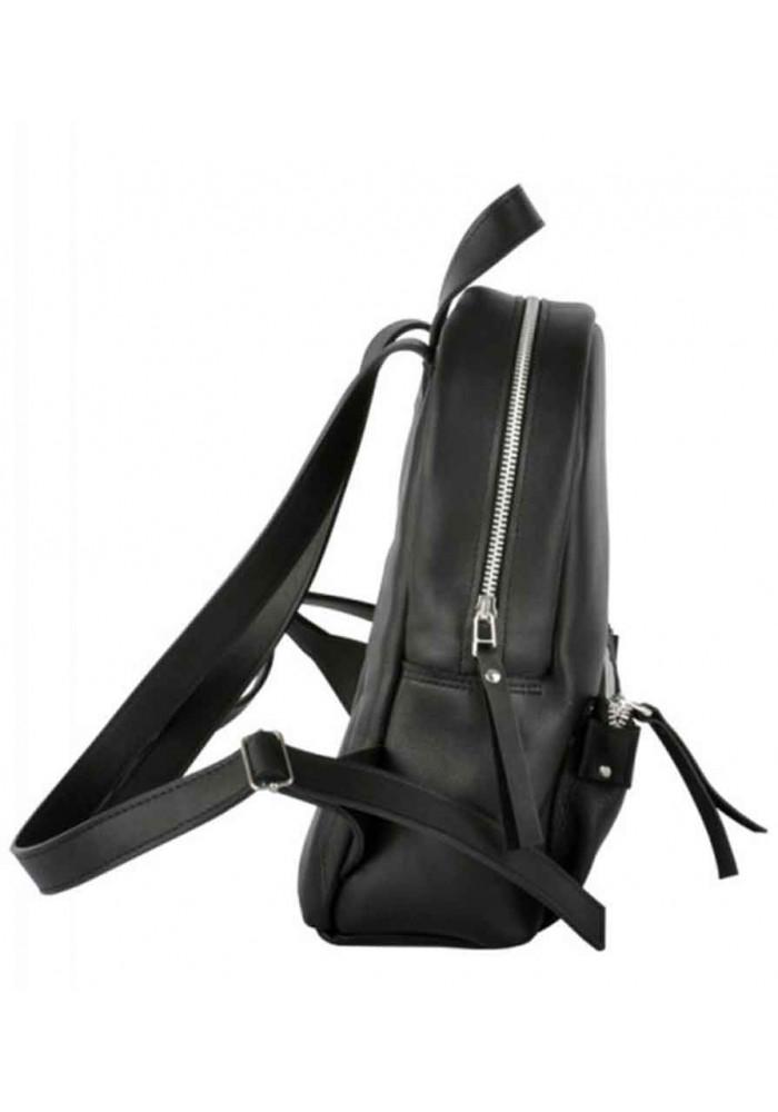 d1db6f04bdfe ... Модный женский рюкзак Pilot-S Black из гладкой кожи, фото №3 - интернет  ...