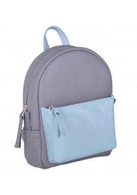 Фото Комбинированный рюкзак женский Sport Double New Grey-Aqua