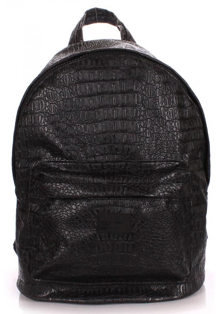 Рюкзак Poolparty черный Croco Black