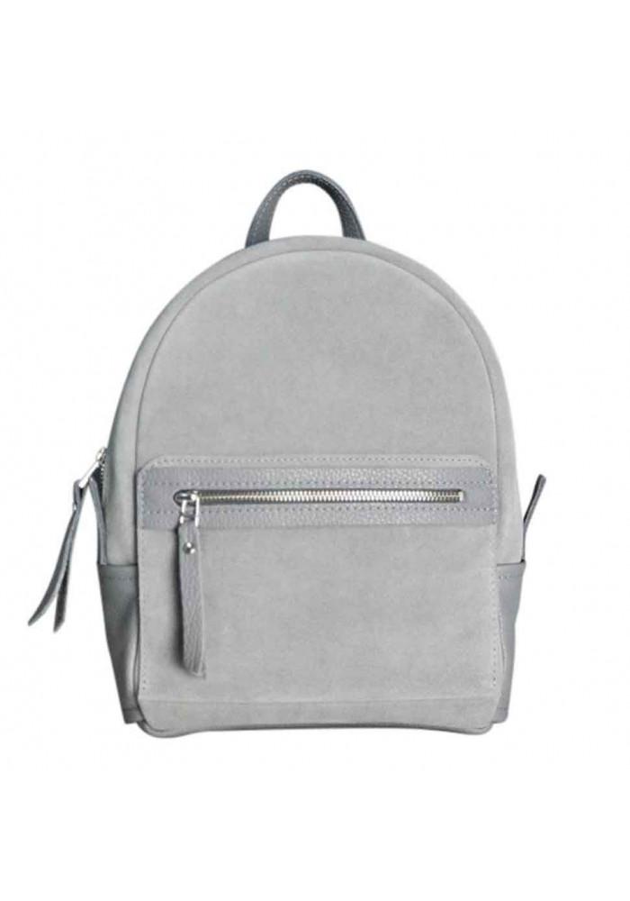 Замшевый рюкзак женский Sport Grey