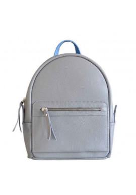Фото Серый женский кожаный рюкзак Sport Grey Mix