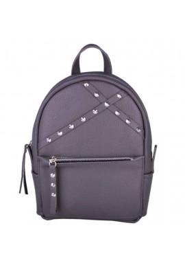 Фото Кожаный женский рюкзак Sakura Dark Grey