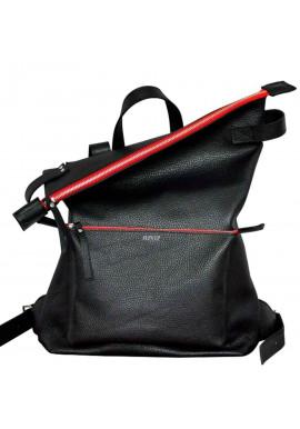 Фото Стильный рюкзак с красными вставками Voyager Black + Red