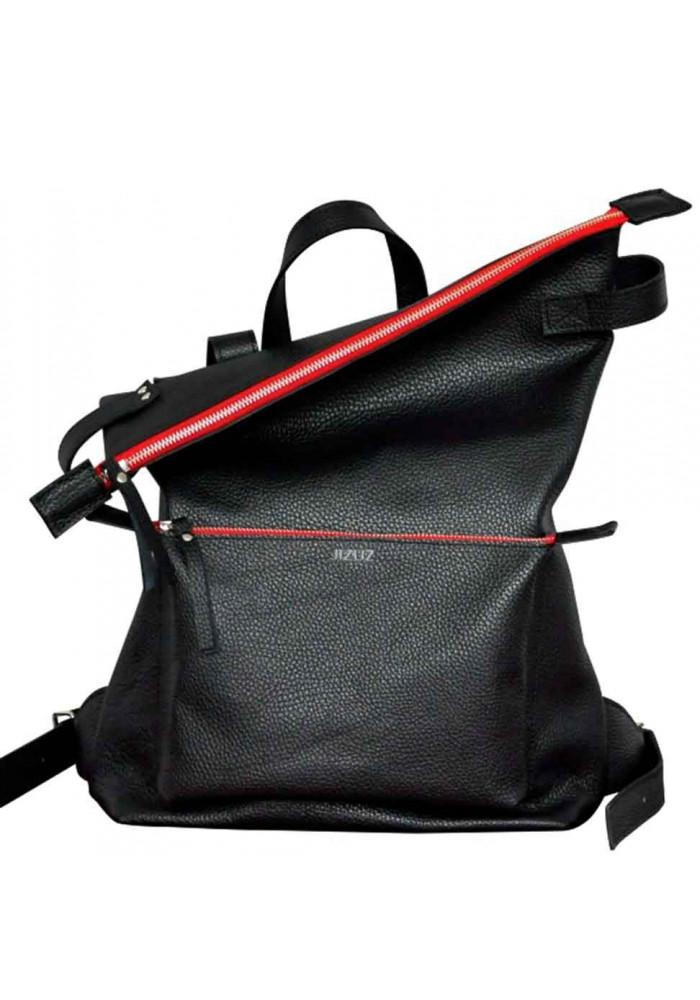 Стильный рюкзак с красными вставками Voyager Black + Red