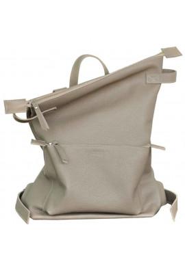 Фото Кожаный летний рюкзак Voyager Beige
