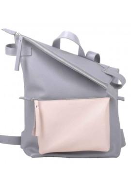 Фото Светлый рюкзак на лето Voyager Grey Nude