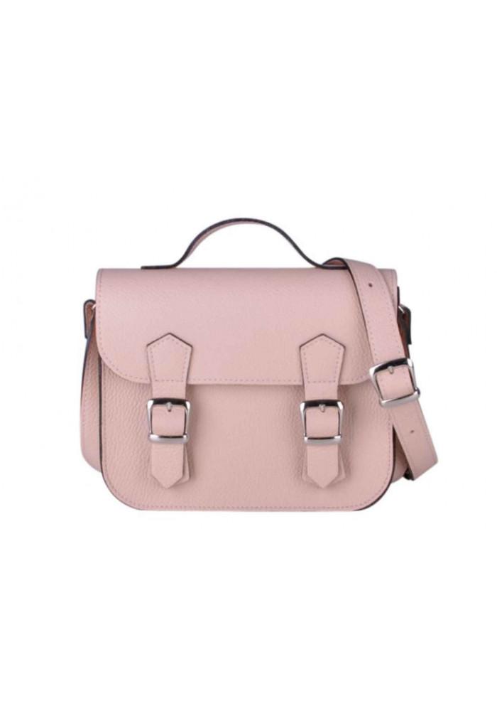 Женская кожаная сумка Satchel Mini Nude