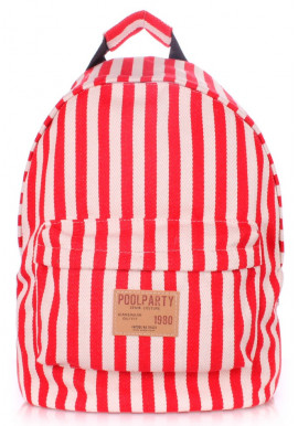 Фото Рюкзак Poolparty Backpack Navy Red