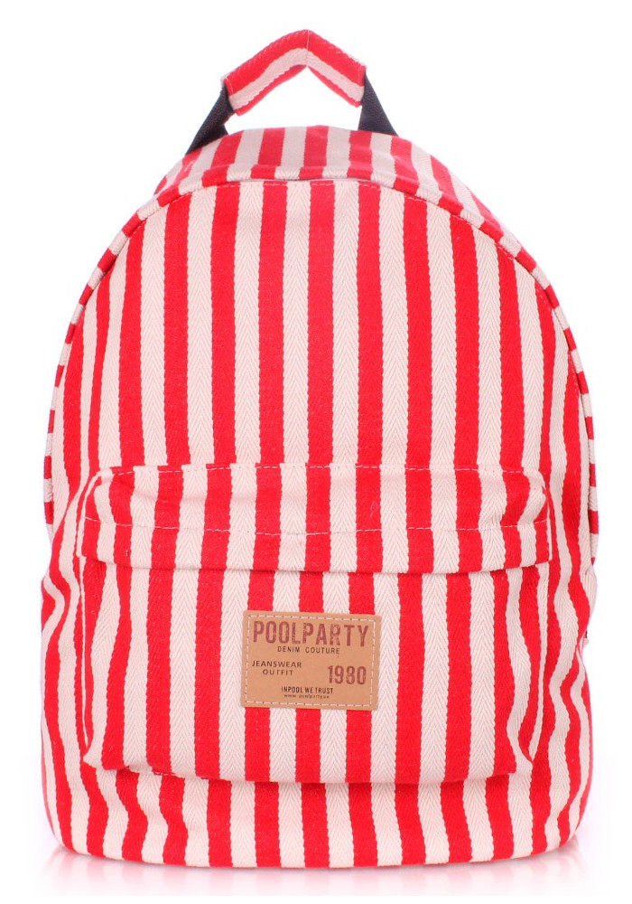 Рюкзак Poolparty Backpack Navy Red