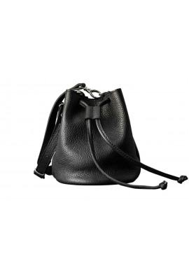 Женская кожаная сумочка клатч Cross Black