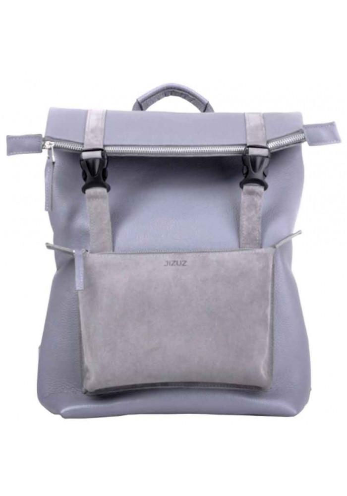 Молодежный кожаный рюкзак Jizuz Desert Grey
