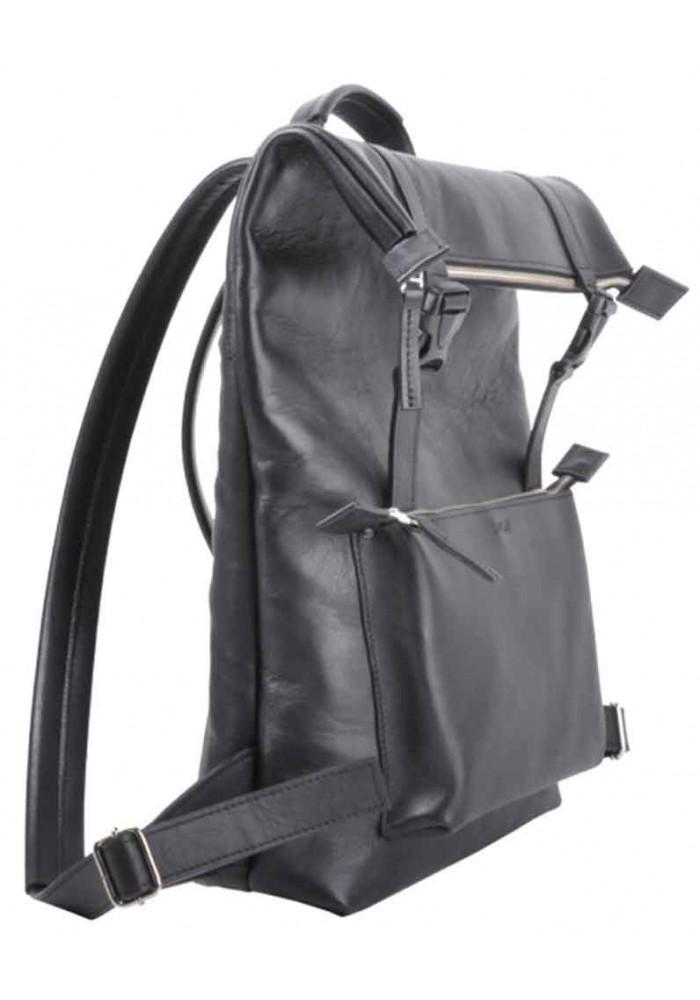 ba5eda030618 Мужской рюкзак из гладкой кожи Jizuz Desert Black GL, фото №2 - интернет  магазин ...