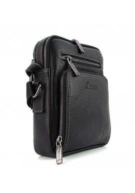Фото Мужская сумка на плечо из кожи Desisan 1321 черная