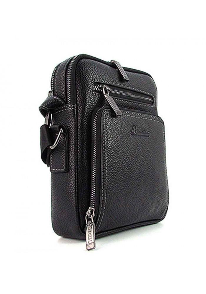 Мужская сумка на плечо из кожи Desisan 1321 черная